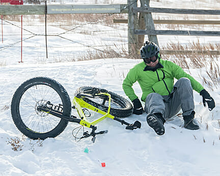 poco rio frio a good race in the badlands in the snow.