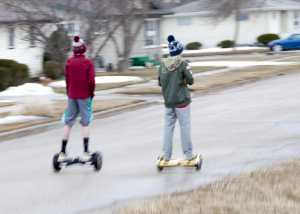 boys hoverboard scooter self-balancing school after-school
