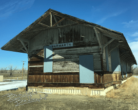highway 16 marmarth depot