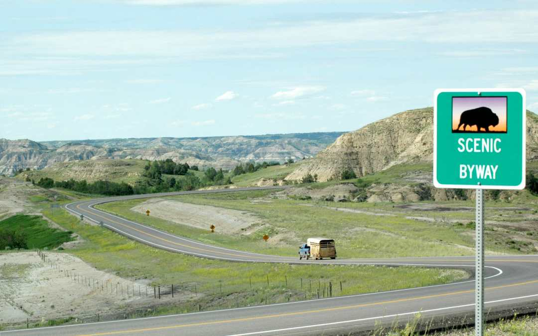 History and Landscape in the Mid-section of this Badlands Scenic Highway Part 2