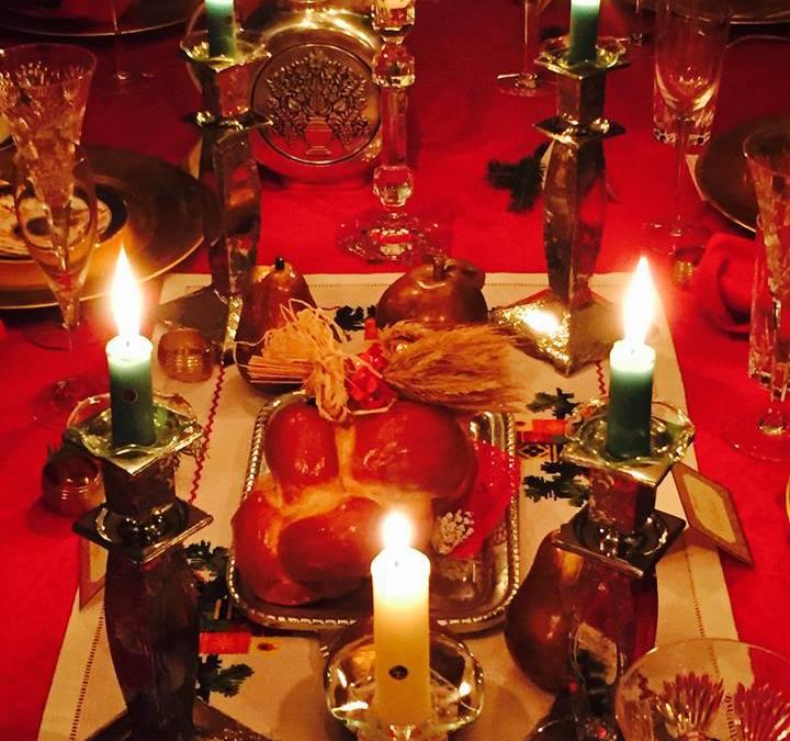 Christmas in the Badlands: A Twelve Course Ukrainian Christmas Dinner!