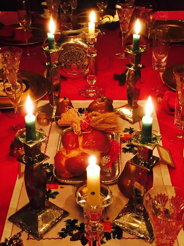 Christmas Table in the Ukraine