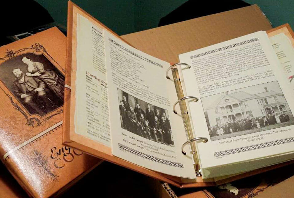 Enger Family Cookbook, Preserving Culture