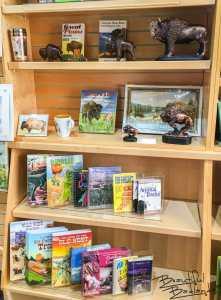 Books, Games, Puzzles, Statuettes Gift Items at Chateau de Mores Interpretive Center, Medora, North Dakota