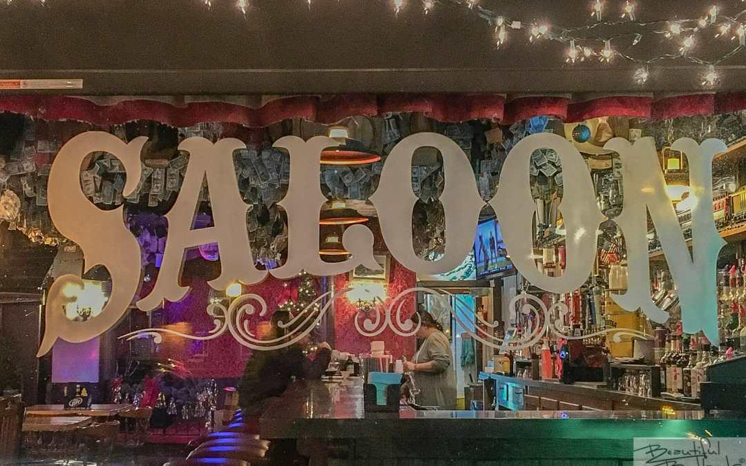 An Authentic Western Saloon! Little Missouri Saloon & Dining, Medora, North Dakota