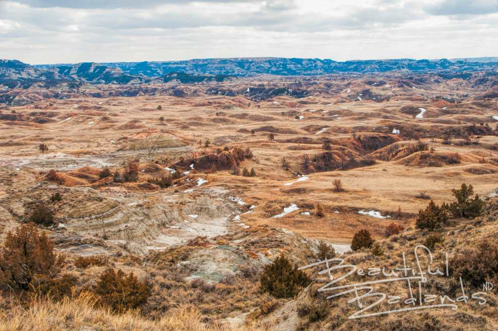 interior of Theodore Roosevelt National Park.