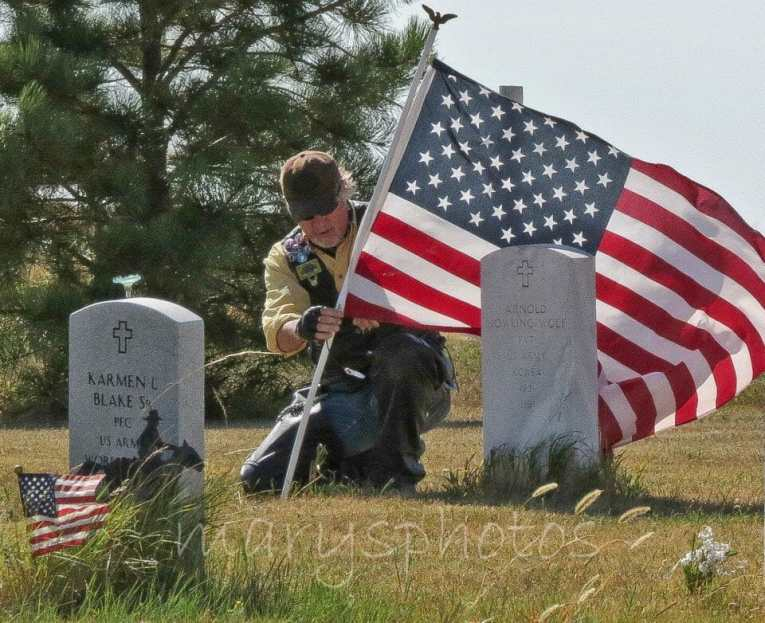 Honor the Indian Scouts at the Indian Scout Cemetery, west of Garrison, North Dakota