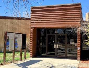 Visitor Center at Theodore Roosevelt National Park, Medora, North Dakota