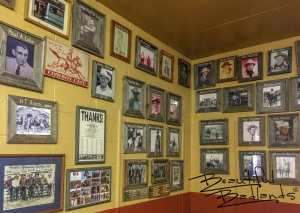 Local Ranch Brands and Cowboys Are Part of the Cowboy Cafe, Medora, North Dakota