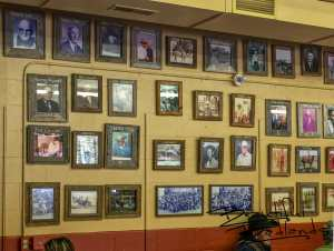 Historical Photos, Part of Cowboy Cafe, Medora, North Dakota