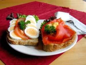 Smorbrod, Norwegian Open Face Sandwiches Find them here: https://smorbrod.com/home/menu/