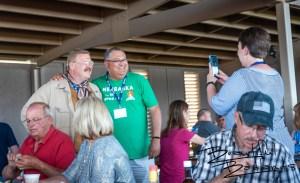 Nebraska Meets Theodore! Tjaden Fondue Terrace, Medora, North Dakota