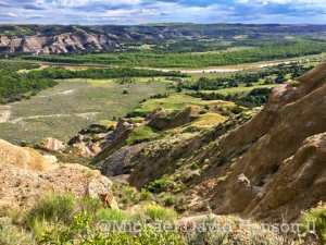 Green Valley of Little Missouri River at the North Unit of Theodore Roosevelt National Park, by Michael David Hanson II