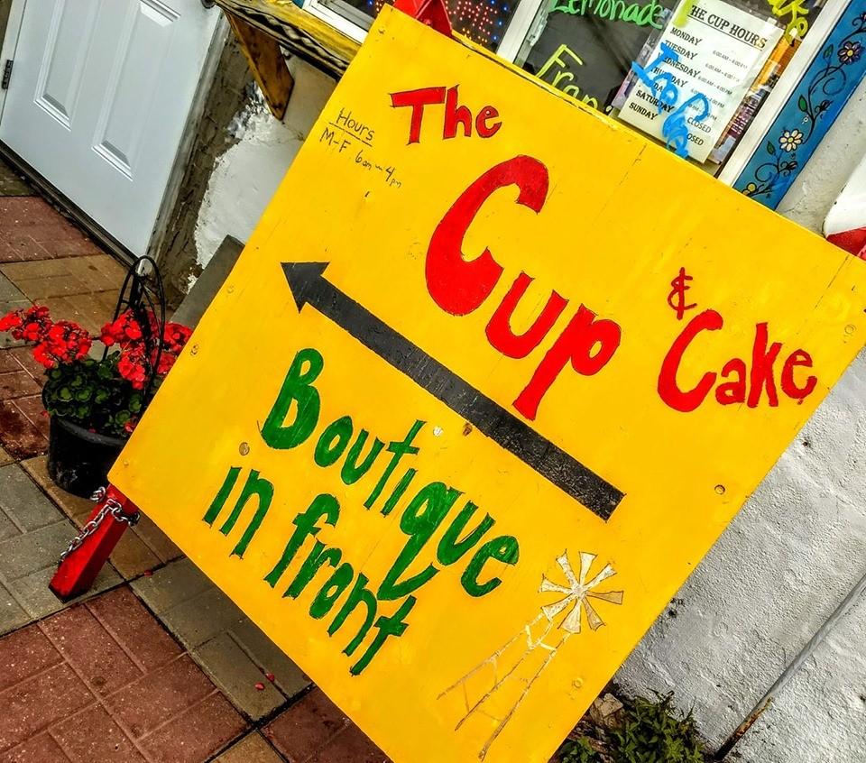 The Cup and Cake in Belfield, North Dakota