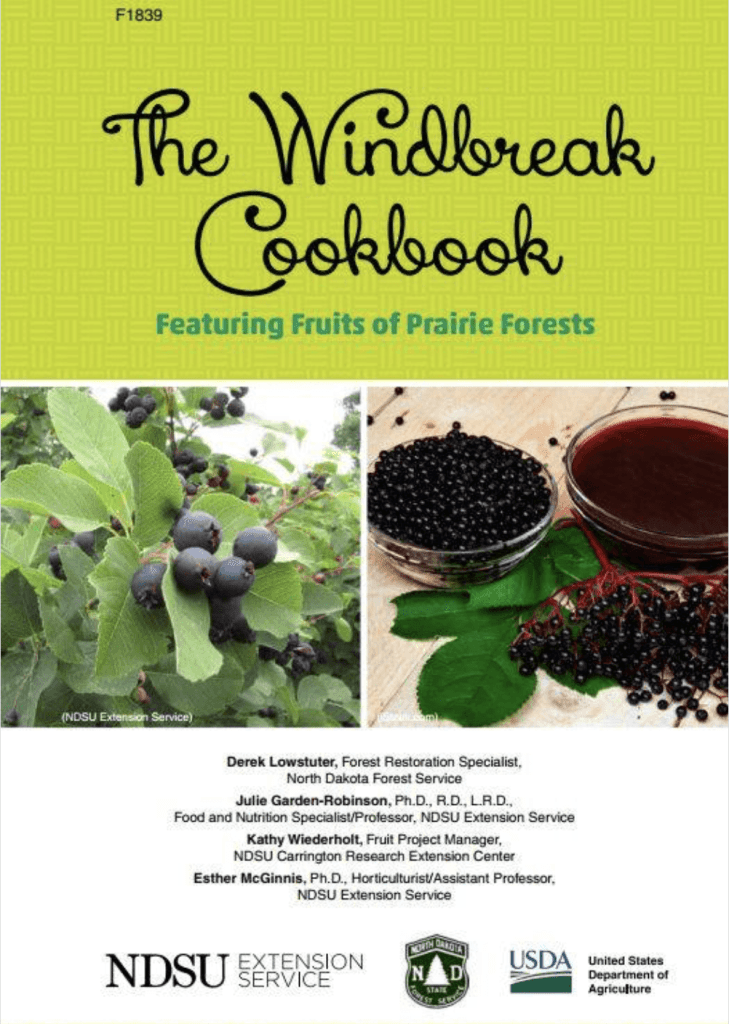 The Windbreak Cookbook published by NDSU, NDFS, and USDA
