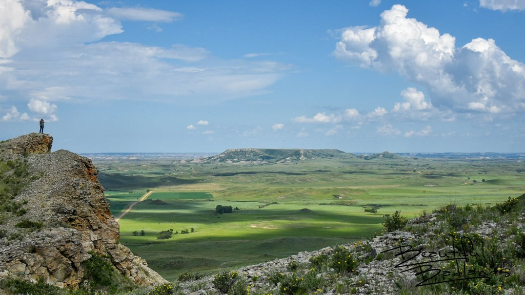 Square Butte on a Summer Day, North Dakota Badlands
