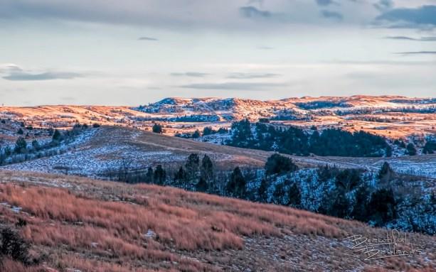 reward sunset crowns the hills gold