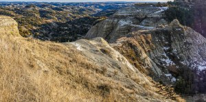 The Devil Passes Here, North Dakota Badlands
