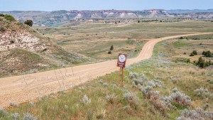 The best eample of a car trip gravel road is on the Custer Trail