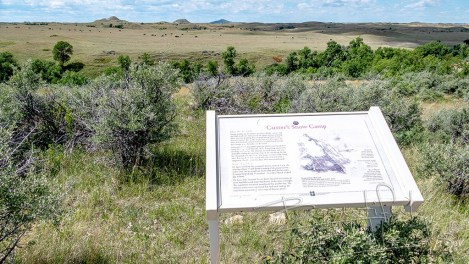 Time Travel on the Custer Trail