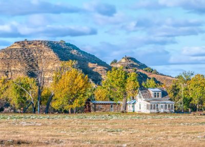 Autumn in the Theodore Roosevelt National Park fall colors Peaceful Valley Ranch