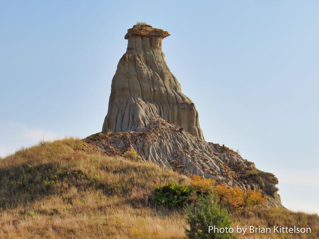 A Notable Landmark on the Maah Daah Hey Trail in North Dakota.