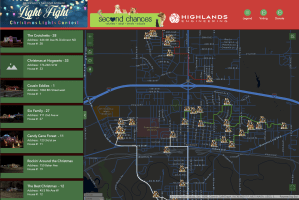 THIS map for the Dickinson's Light Fight is incredible! It's interactive and so easy to use. 🎄🎄 View the map and plan your Christmas light viewing drive at https://bit.ly/3n67Rve Photo courtesy Dickinson Convention & Visitors Bureau--The Western Edge