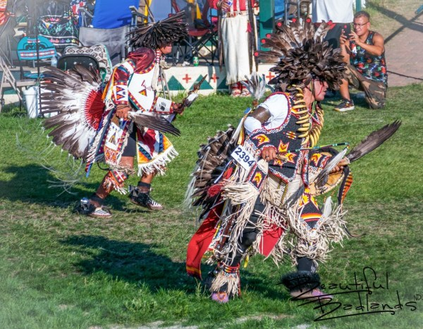 Dance Competition at Little Shell Celebration, New Town, North Dakota August 14, 2021