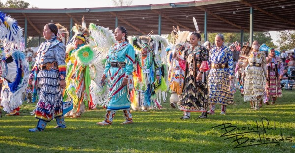 Grand Entry at the Little Shell Powwow 2021