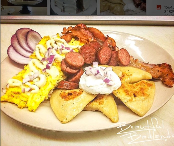 Perogies! and so much more at Four Corners Cafe & Catering, Fairfield, North Dakota