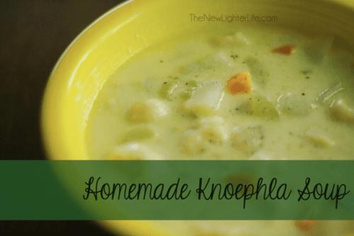 Homemade Knoephla Soup from The New Lighter Life food blog Knefla Knoefla Knoephla Soup https://thenewlighterlife.com/homemade-knoephla-soup-recipe/#es_form_f0-n1