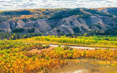 Now is the time to catch fall colors in the Badlands.