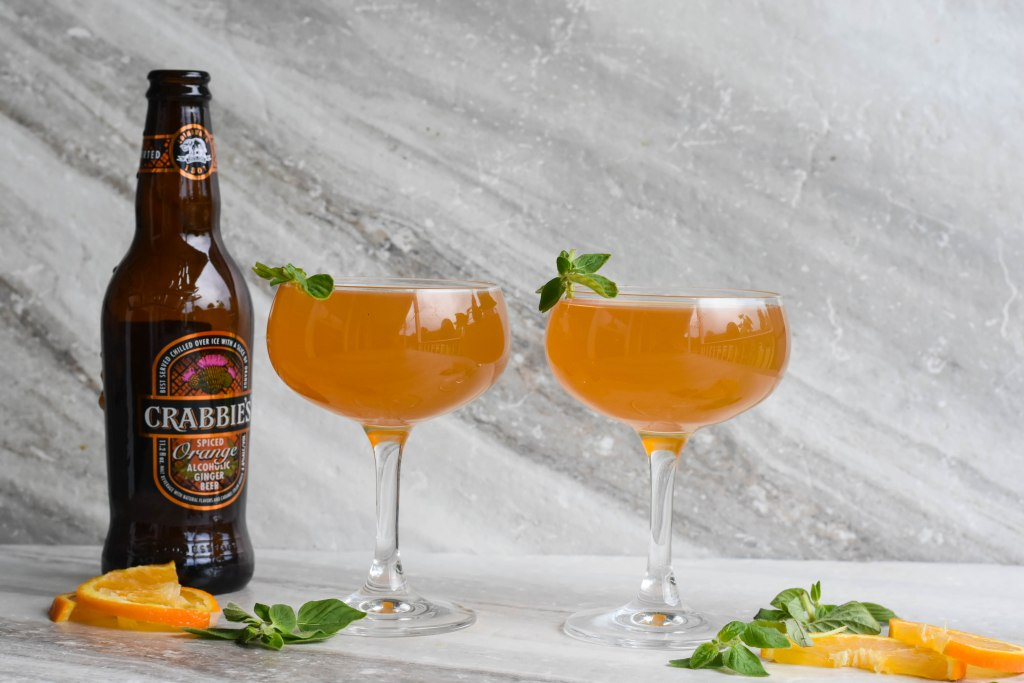 , Crabbie's Scary Spiced Cocktail