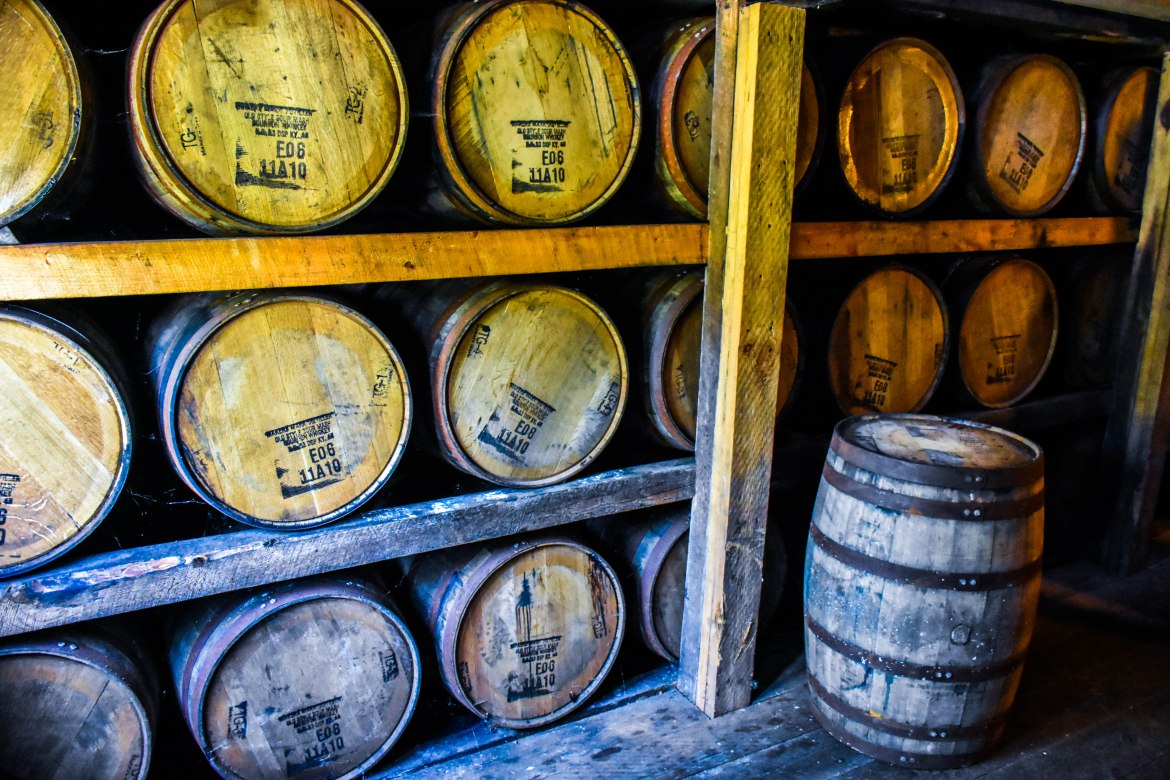 , There's No Wrong Direction While Meandering the Kentucky Bourbon Trail