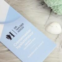 Hyaluronzuur Crèmemasker | Dr van der Hoog