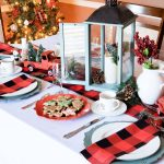 My Country Blue Red Buffalo Plaid Christmas Decor Beautiful Eats Things