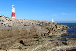 Portland Bill Lighthouse and ledges, Portland