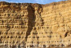 Crevice, Burton Cliff, Burton Bradstock