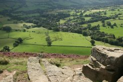 Edale, from The Nab