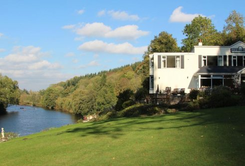 Forest View Guest House, overlooking River Wye, Symonds Yat