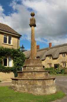 Medieval Village Cross, Hinton St. George