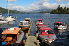 Motor boats, Bowness-on-Windermere