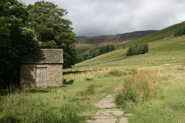 Path to Grindsbrook Clough, from Edale