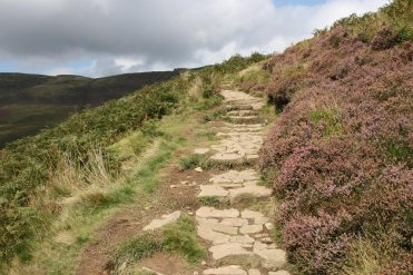 Path to The Nab, from Edale
