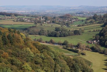 Ross-on-Wye, from Yat Rock, Symonds Yat