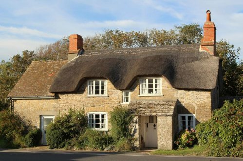 Thatched cottage, Burton Bradstock