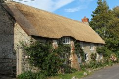Thatched cottage, Church Street, Burton Bradstock