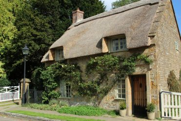 Thatched cottage, Hinton St. George