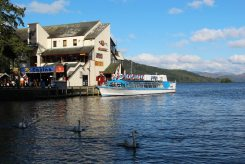 The Lakeview Restaurant and Miss Cumbria III, Bowness-on-Windermere