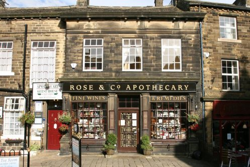 The Old Apothecary, now owned by Rose & Co, Haworth